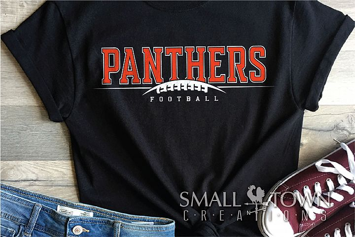 Panthers Football, Team, Sports, Logo, PRINT, CUT & DESIGN