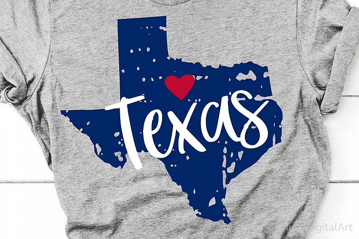 Texas Svg, Grunge Texas Map Svg, Distressed Texas Outline