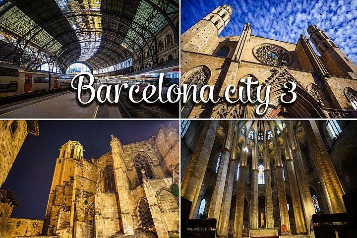 Barcelona city set 3