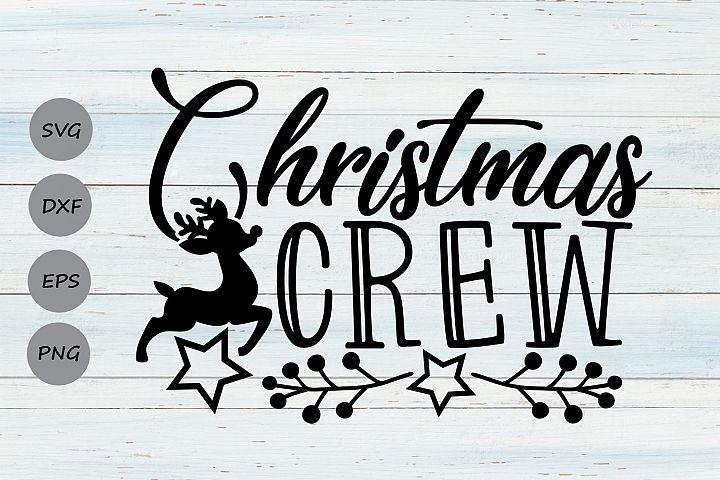 Christmas Crew Svg, Christmas Svg, Holidays Svg, Winter Svg.