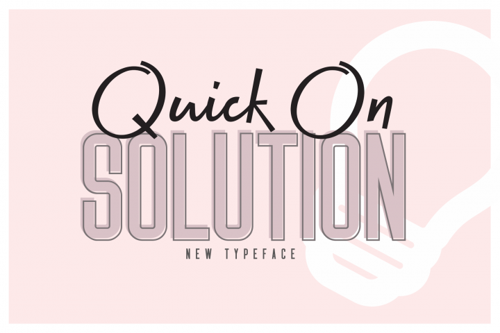 Quick On & Solution