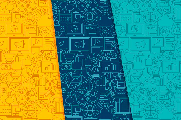 Marketing Line Tile Patterns example 5