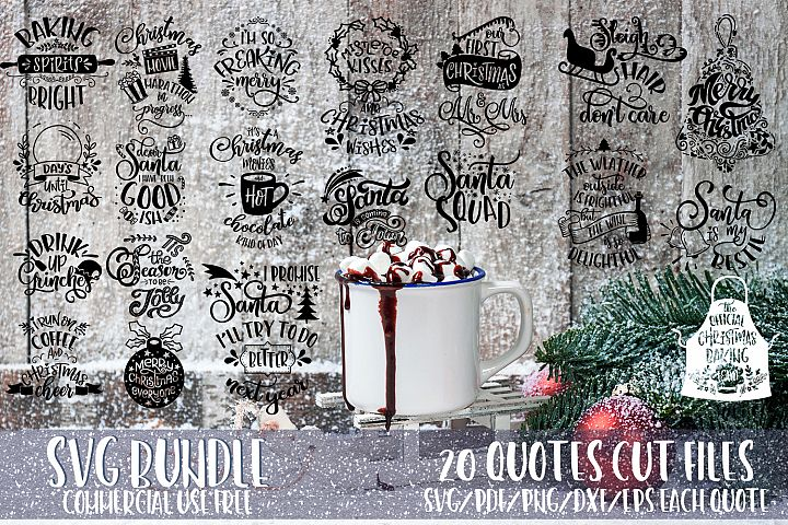 Christmas bundle svg Merry Christmas Winter svg vol 3