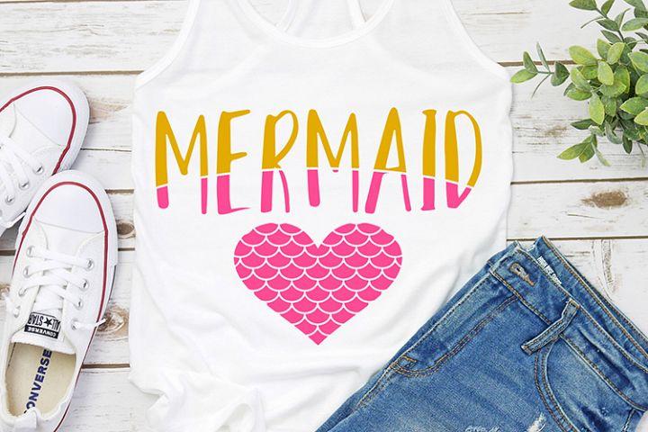 Mermaid at heart kids
