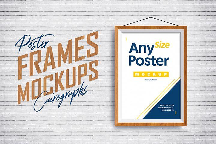 Posters Frames Mockups