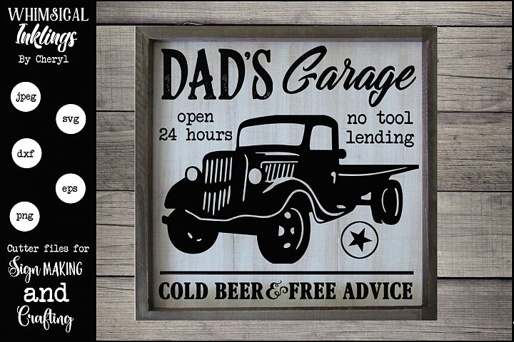 Dads Garage 2 SVG