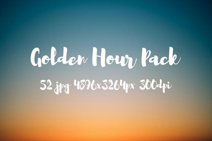 Golden hour Pack