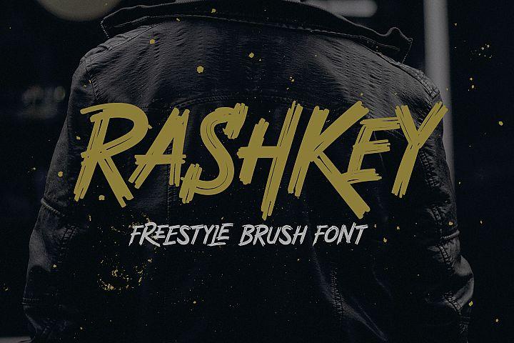 Rashkey Freestyle Brush Font