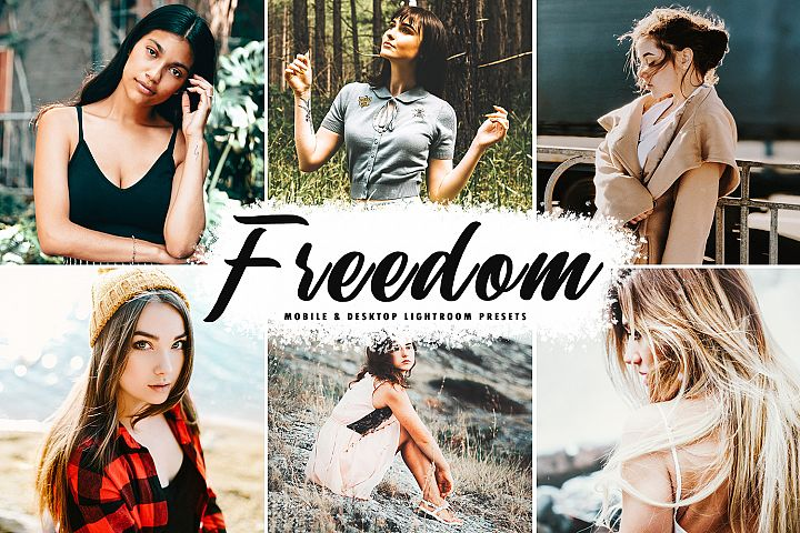 Freedom Mobile & Desktop Lightroom Presets