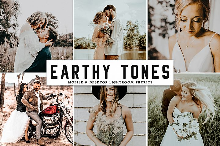 Earthy Tones Mobile & Desktop Lightroom Presets