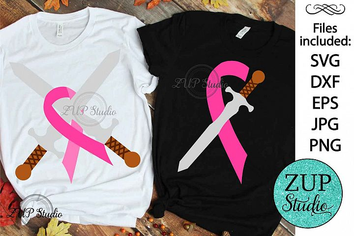 Breast Cancer Ribbon cutting files svg 6