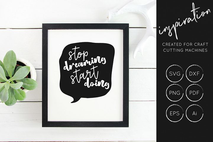 Inspirational Quotes SVG Cut File Bundle - Design Collection - Free Design of The Week Design 4