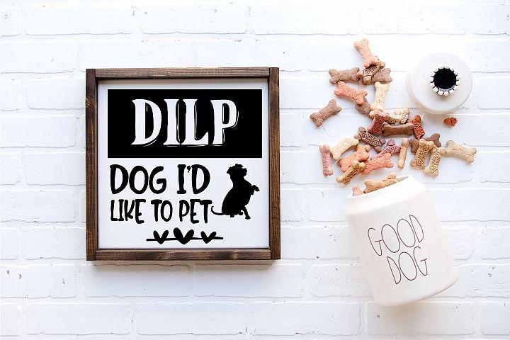 Dog Id Like To Pet | Pets | Dog SVG Cut File