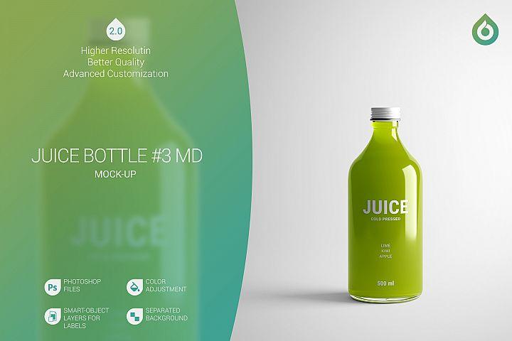 Juice Bottle MD Mock-Up #3 V2.0