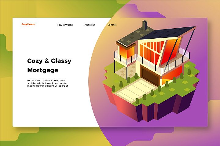 Real Estate - Banner & Landing Page
