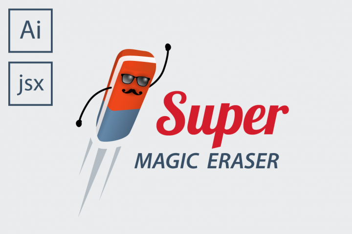 Super Magic Eraser Illustrator script