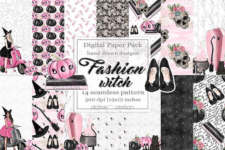 Fashion Witch - Digital Pattern