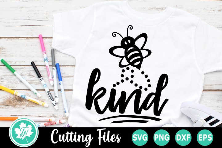 Bee Kind - An Inspirational SVG Cut File