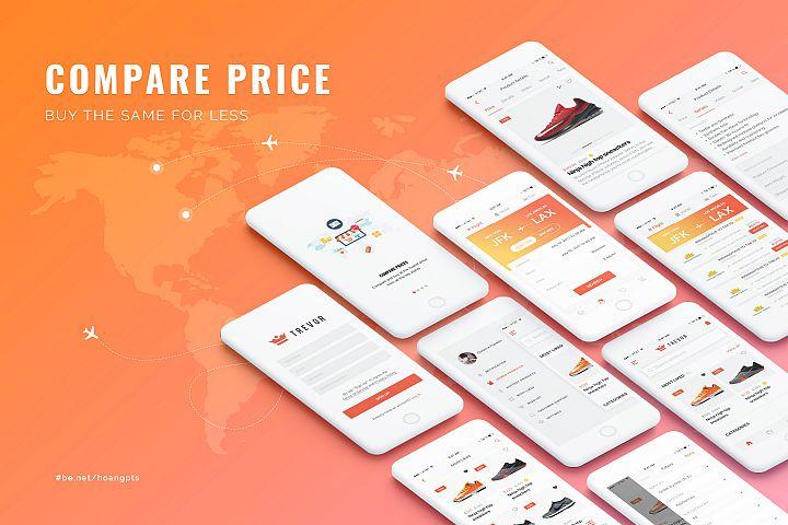Trevor - UI Design for Compare, Deals & Offers