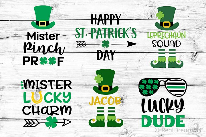 St Patricks Day Bundle SVG, DXF, PNG, EPS