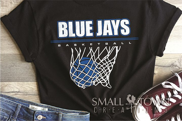 Blue Jay, basketball, Sports,Team, PRINT, CUT & DESIGN