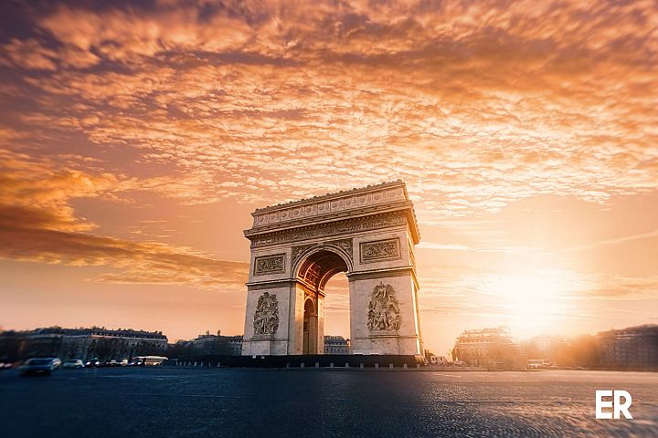Arc the Triumph, Paris France