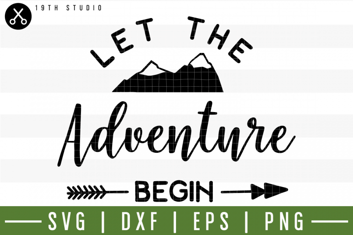 Let The Adventure Begin SVG | M3F13