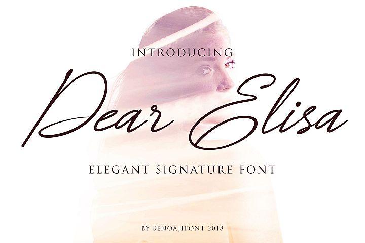 Dear Elisa