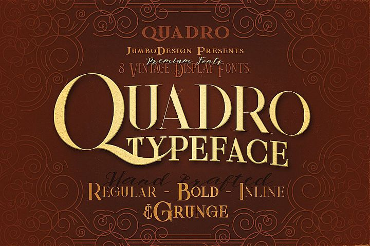 Quadro - Display Font