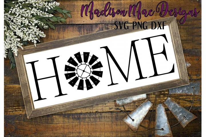 HOME SVG | Digital Cutting File | Sign SVG