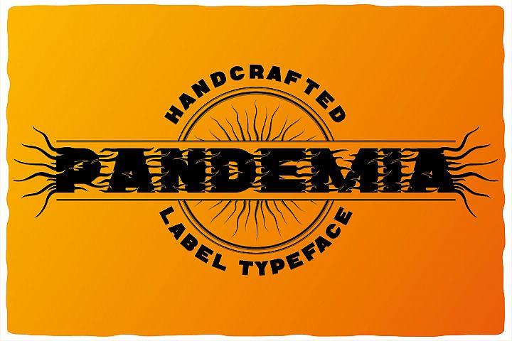 Pandemia typeface