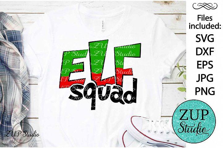 Elf Squad SVG Design Cutting Files 315