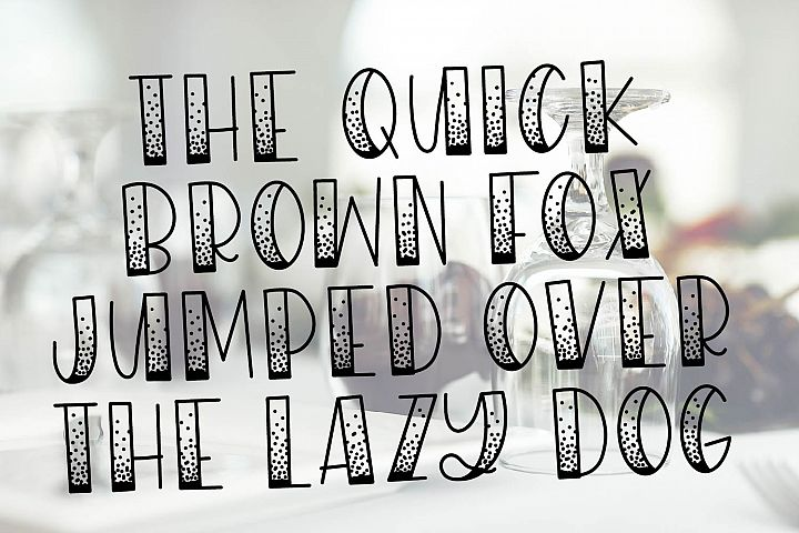 WildNight - A Hand Lettered Shimmery Font Duo example image 4