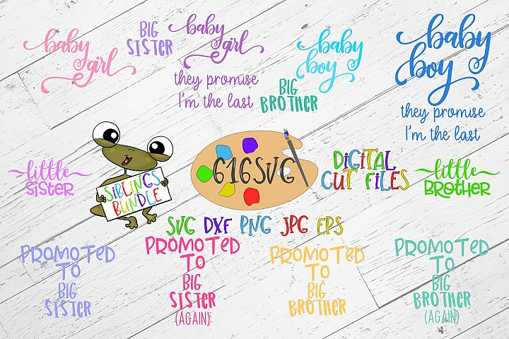 Siblings Bundle SVG