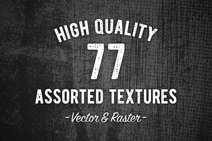 77 High Quality Assorted Textures