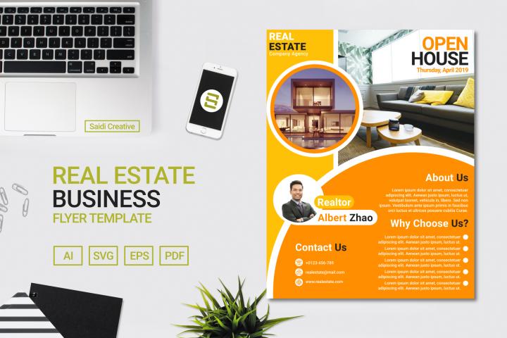 Real Estate Business Flyer Template Design | US Flyer Size