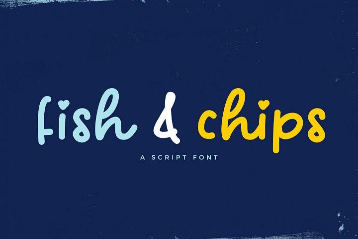 Fish & Chips Script Font