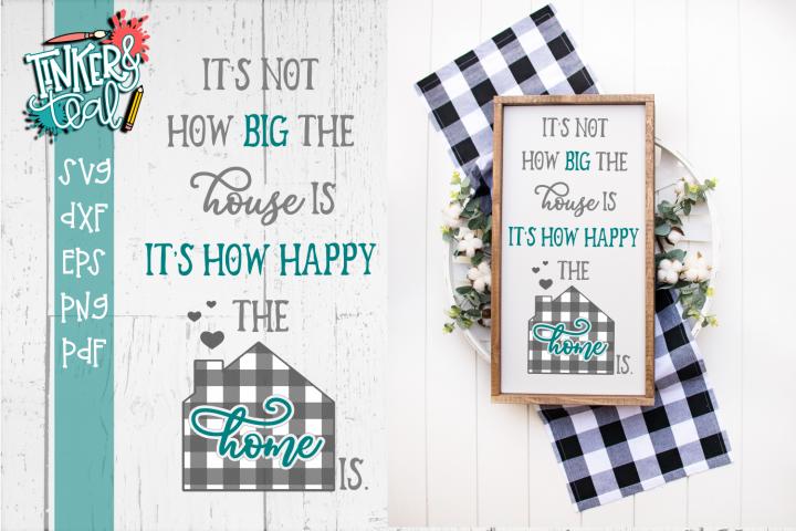 Happy Home Farmhouse SVG