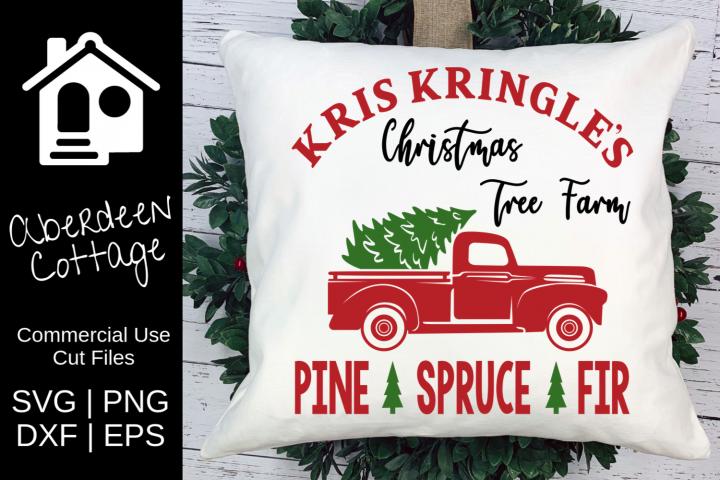 Kris Kringles Christmas Tree Farm SVG
