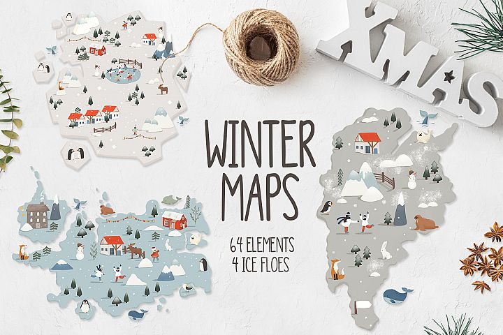Winter maps