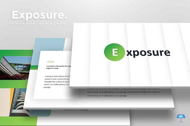 Exposure - Keynote Template