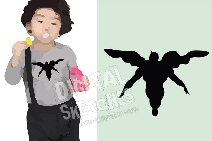 Hero Vector Graphic, Hero Cut File, Hero SVG