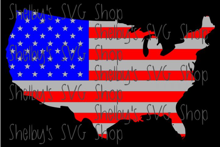 USA - American Flag - Home of the Brave - Bundle
