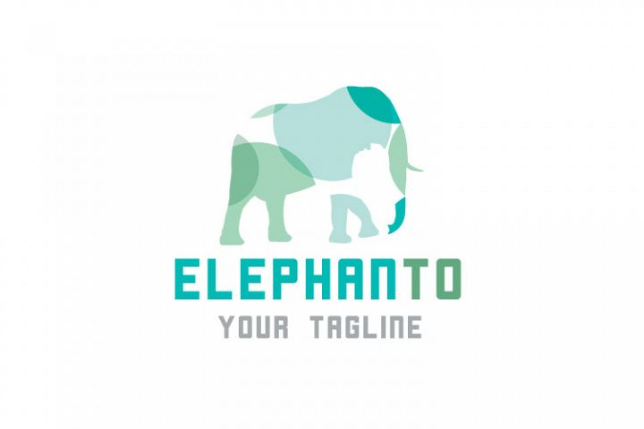 Elephant Vector Logo Design