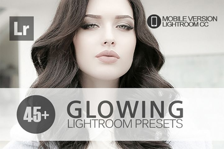 45 Glowing Lightroom Mobile bundle Presets