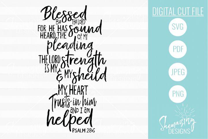 Psalm 28-6