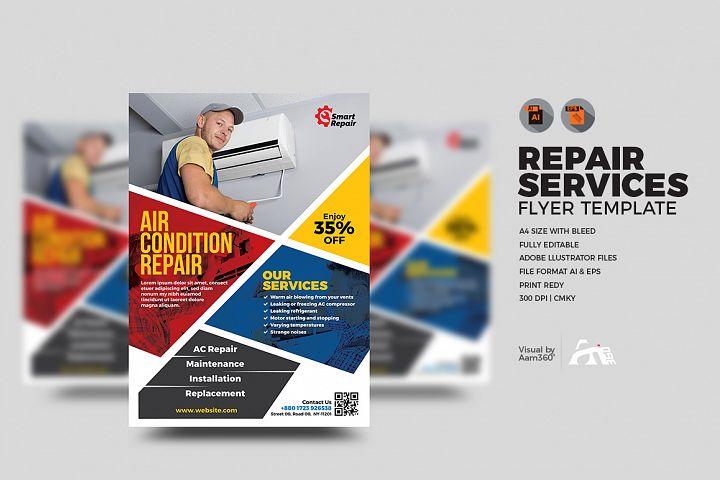 Repair Service Flyer