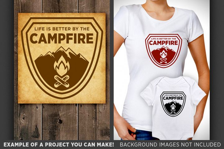 Life Is Better By The Campfire SVGCamping Camper Svg 644