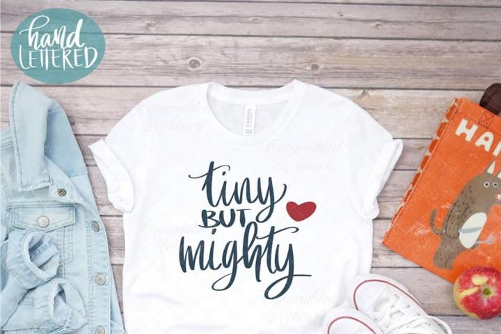 Tiny but mighty svg, kid shirt design, kid shirt svg