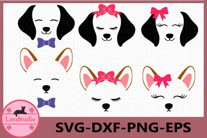 Dog SVG, Dog Face Svg, Puppy Svg, Dog svg, Clipart